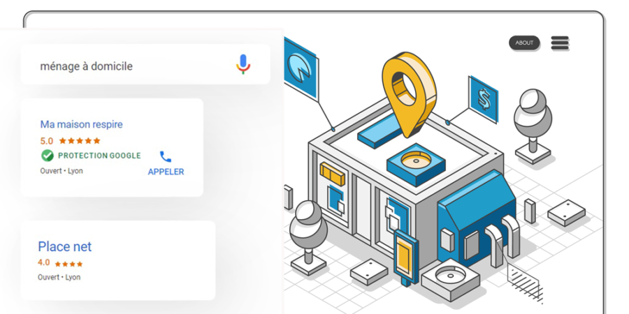 Protection Google Annonces local Services